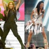 Nicole Scherzinger and Jennifer Lopez battle